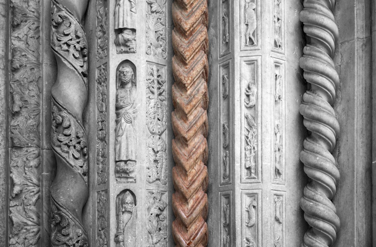 Dettagli Santa Maria Maggiore - Bergamo